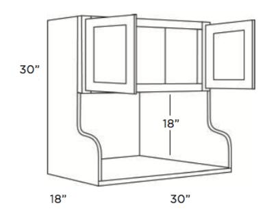 Cabinets, Cubitac Ridgefield Latte