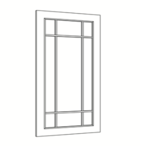 Cabinets, Cubitac Belmont Cafe Glaze Mullion-9-Light-Door-ND1542-ND1842-ND3042-ND3642-NDCW2442