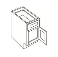 Cabinets, Cubitac Oxford Latte Sample-Mini-Base-MINI-BASE