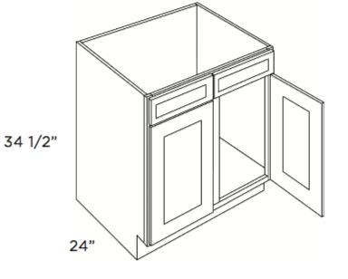 Cabinets, Cubitac Oxford Latte Sink-Base-SB39-SB42