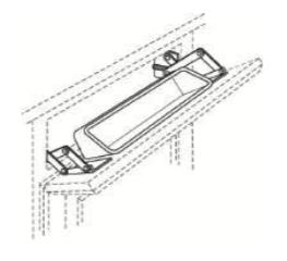 Cabinets, Cubitac Oxford Latte Tilt-Out-Tray-TOT-15-TOT-18