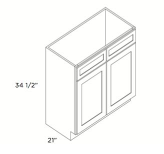 Cabinets, Cubitac Belmont Cafe, Cubitac Belmont Cafe Glaze Vanity-V4221-
