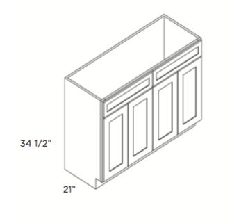 Cabinets, Cubitac Belmont Cafe, Cubitac Belmont Cafe Glaze Vanity-V4821-