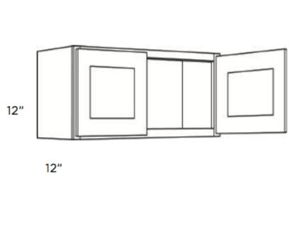 Cabinets, Cubitac Newport Latte Wall-Cabinet-1812-2412-3012-3312-3612-4212-4812