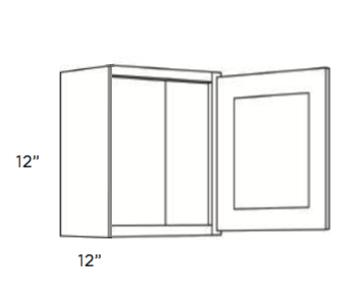 Cabinets, Cubitac Milan Latte Wall-Cabinet-1812-single