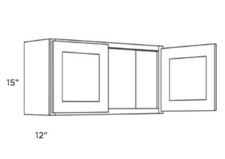 Cabinets, Cubitac Newport Latte Wall-Cabinet-2115-2415-3015-3315-3615