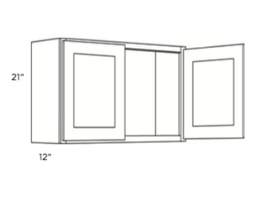 Cabinets, Cubitac Milan Latte Wall-Cabinet-2421-3021