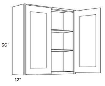 Cabinets, Cubitac Newport Latte Wall-Cabinet-2430-2730-3030-3330-3630