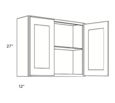 Cabinets, Cubitac Milan Latte Wall-Cabinet-3027