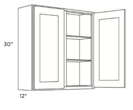 Cabinets, Cubitac Newport Latte Wall-Cabinet-3930-4230