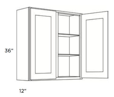 Cabinets, Cubitac Ridgefield Latte Wall-Cabinet-3936-4236