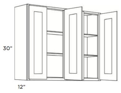 Cabinets, Cubitac Newport Latte Wall-Cabinet-4830-5430