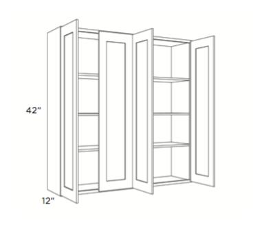 Cabinets, Cubitac Newport Latte Wall-Cabinet-4842