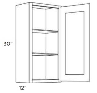 Cabinets, Cubitac Newport Latte Wall-Cabinet-930-1230-1530-1830-2130