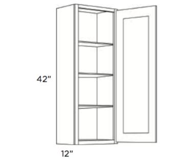 Cabinets, Cubitac Newport Latte Wall-Cabinet-942-1242-1542-1842-2142