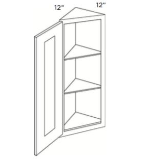 Cabinets, Cubitac Oxford Pastel Wall-End-Door-Cabinet-WEC1230-WEC1236-WEC1242