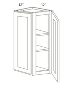 Cabinets, Cubitac Sofia Caramel Wall-End-Door-Cabinet-WECD1230-WECD1236-WECD1242