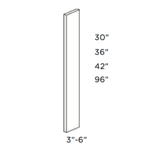 Cabinets, Cubitac Oxford Pastel Wall-Filler-WF3X30-WF3X36-WF3X42-WF6X30-WF6X42-TF3X96-TF6X96-TF696-TF396-WF342-WF642-WF636-WF630-WF336-WF330