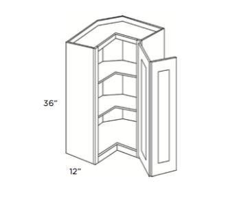 Cabinets, Cubitac Sofia Sable Wall-Square-Corner-WSQ2436-WSQ2442-WSQ2430