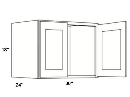 Cabinets, Forevermark K-Series White Forevermark-Wall-Cabinet-w301824b-