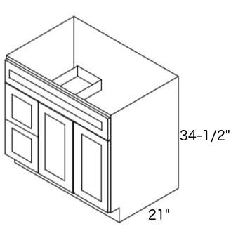 Cabinets, Forevermark Greystone Shaker, Forevermark Greystone Shaker