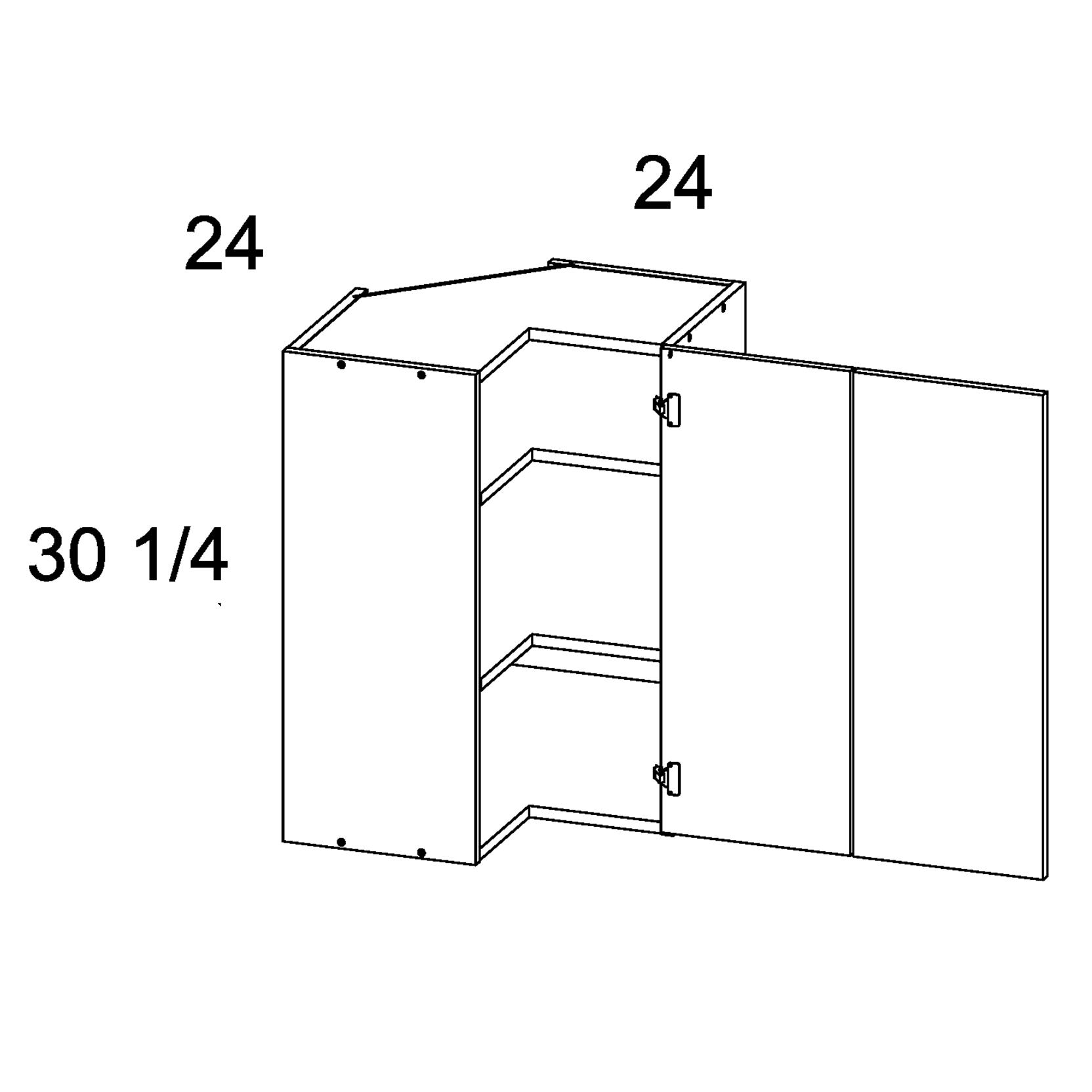 Cabinets, US Cabinet Depot Torino Dark Wood US Cabinet Depot Easy Reach Wall Corner Cabiner