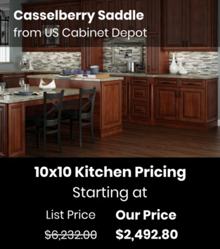 US Cabinet Depot Casselberry Saddle