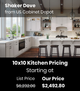 US Cabinet Depot Shaker Dove