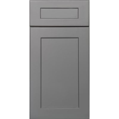 Sample Mini Fronts US Cabinet Depot Shaker Grey Door Front