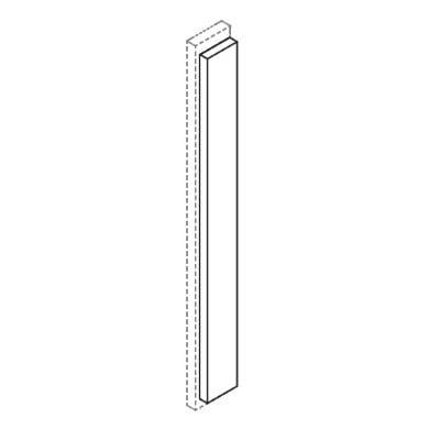 Cabinets, Forevermark Rio Vista White Shaker Forevermark Overlay FIller