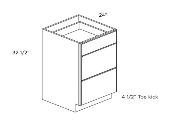 Cabinets, Cubitac Dover Cafe Cubitac ADA Compliant Drawer Base Vanity Cabinet