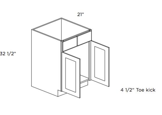 Cabinets, Cubitac Dover Espresso, Cubitac Dover Espresso ADA Compliant Vanity Cabinet