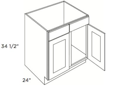 Cabinets, Cubitac Dover Cafe Cubitac Sink Base Cabinet SB39 or SB42