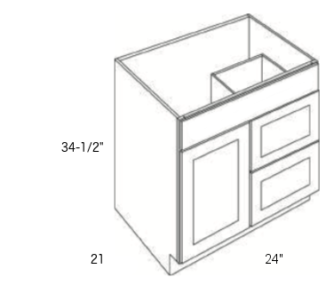 Cabinets, Cubitac Dover Espresso, Cubitac Dover Espresso Cubitac Vanity Combo V2421D