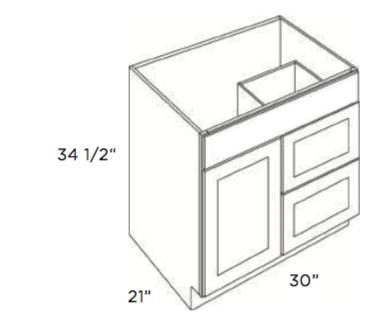 Cabinets, Cubitac Dover Espresso, Cubitac Dover Espresso Cubitac Vanity Combo V3021D
