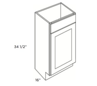 Cabinets, Cubitac Dover Cafe, Cubitac Dover Cafe Cubitac Vanity Sink Base Cabinet V1816
