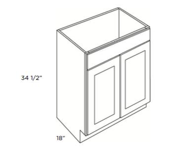 Cabinets, Cubitac Dover Cafe, Cubitac Dover Cafe Cubitac Vanity Sink Base Cabinet V2418