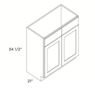 Cabinets, Cubitac Dover Cafe, Cubitac Dover Cafe Vanity With Two Doors V4221