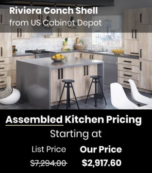 US Cabinet Depot Riviera Conch Shell
