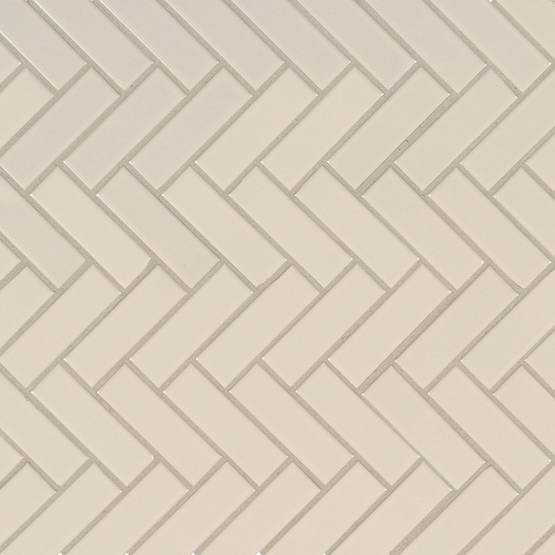 DECORATIVE MOSAICS, DOMINO COLLECTION, Tiles and Flooring msi-tiles-flooring-almond-glossy-herringbone-NALMHBG