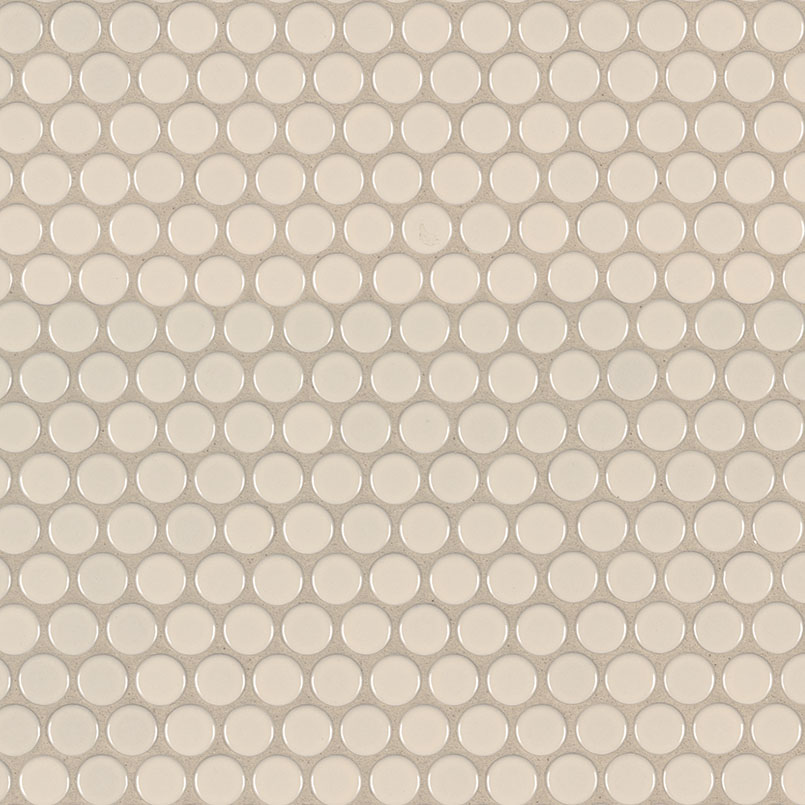 DECORATIVE MOSAICS, DOMINO COLLECTION, Tiles and Flooring msi-tiles-flooring-almond-glossy-penny-round-NALMPENROU