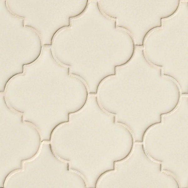 DECORATIVE MOSAICS, HIGHLAND PARK COLLECTION, Tiles and Flooring msi-tiles-flooring-antique-white-arabesque-SMOT-PT-AW-ARABESQ