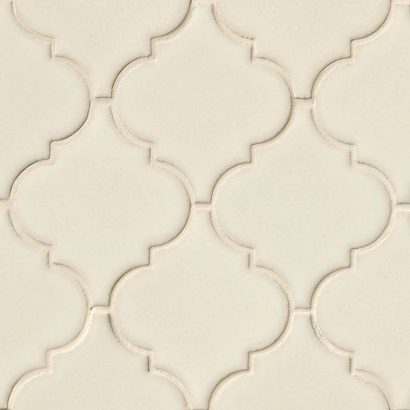 DECORATIVE MOSAICS, HIGHLAND PARK COLLECTION, Tiles and Flooring msi-tiles-flooring-antique-white-arabesque-SMOT-PT-AW-ARABESQ