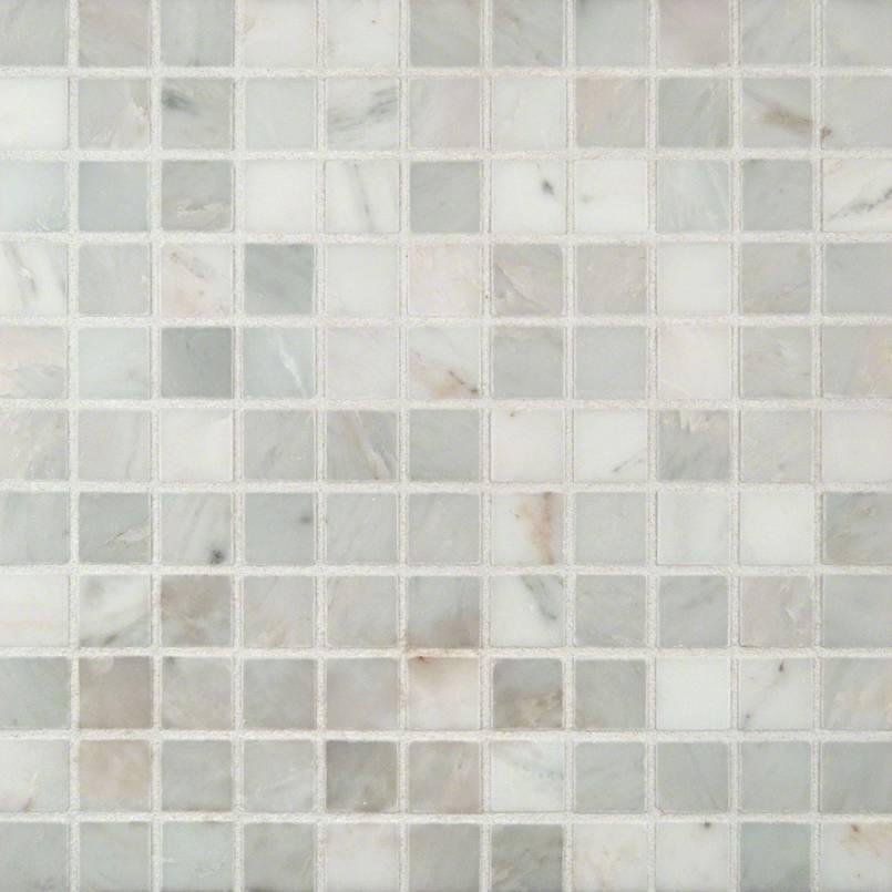 NATURAL STONE MARBLE COLLECTIONS, Tiles and Flooring msi-tiles-flooring-arabescato-carrara-1x1-mosaic-SMOT-ARA-1X1-H