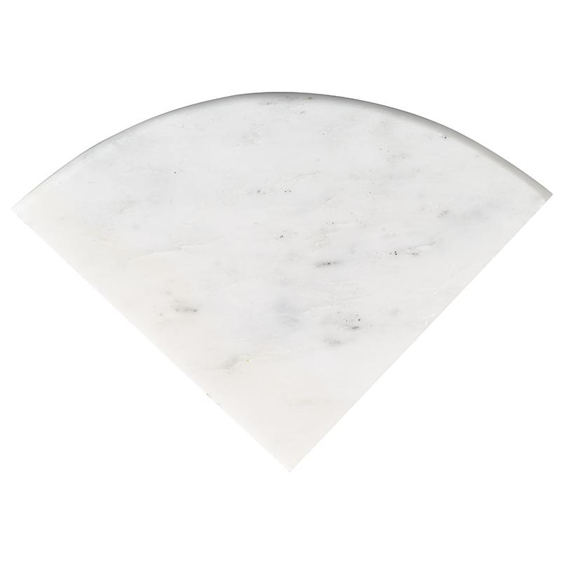 NATURAL STONE MARBLE COLLECTIONS, Tiles and Flooring msi-tiles-flooring-arabescato-carrara-radius-corner-shelf-SMOT-CSHELF-ARA9