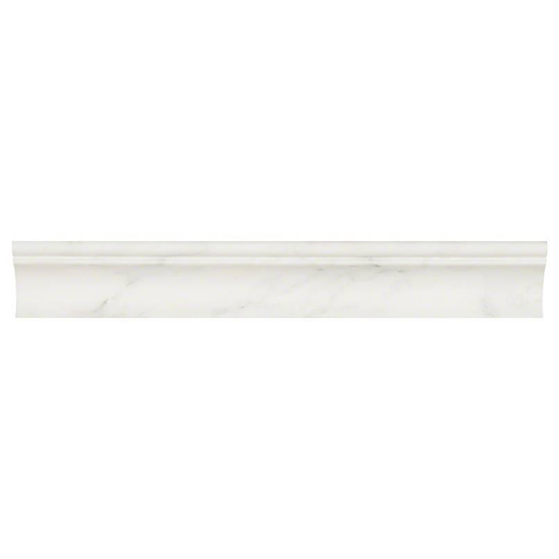 NATURAL STONE MARBLE COLLECTIONS, Tiles and Flooring msi-tiles-flooring-arabescato-carrara-cornice-molidng-SMOT-CORNICE-ARA