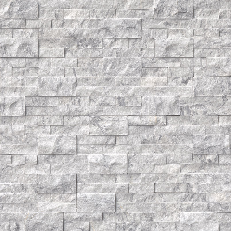 STACKED STONE – ROCKMOUNT, Tiles and Flooring tiles-and-flooring-arabescato-carrara-splitface-6x24-panel-2-LPNLMARACAR624