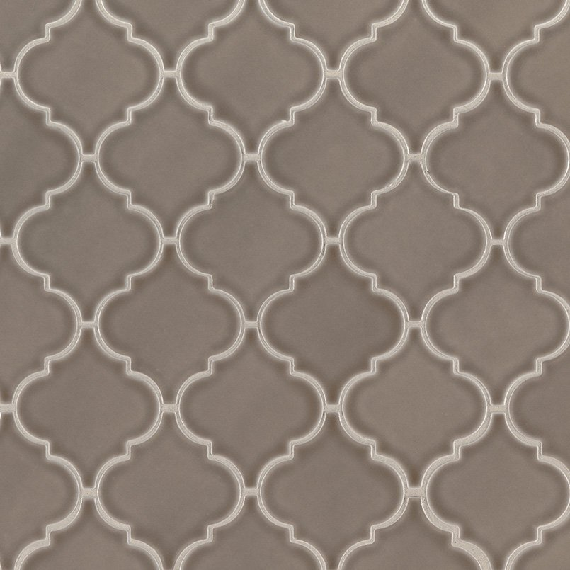DECORATIVE MOSAICS, HIGHLAND PARK COLLECTION, Tiles and Flooring msi-tiles-flooring-artisan-taupe-arabesque-SMOT-PT-ARTA-ARABESQ
