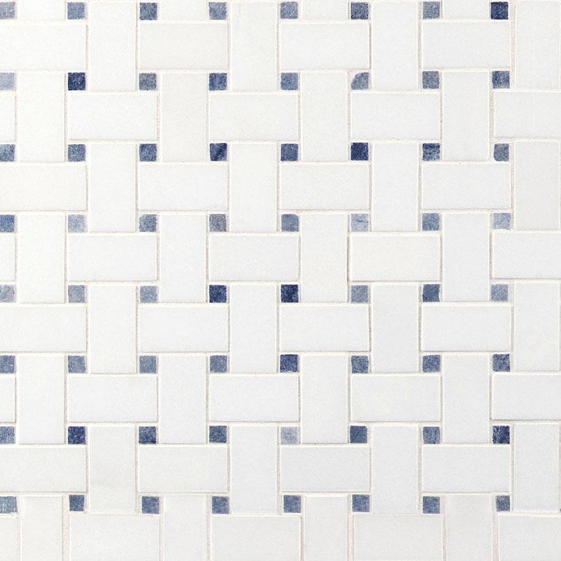 NATURAL STONE MARBLE COLLECTIONS, Tiles and Flooring msi-tiles-flooring-azula-basketweave-polished-SMOT-AZULA-BWP