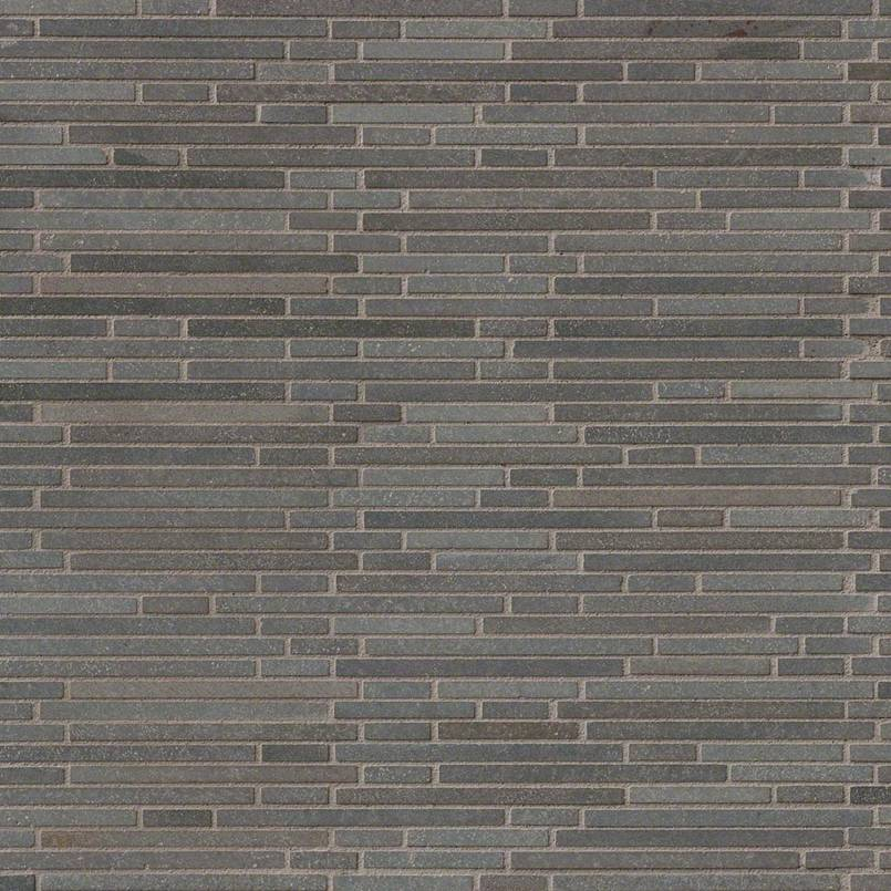 DECORATIVE MOSAICS, Tiles and Flooring msi-tiles-flooring-basalt-blue-bamboo-SMOT-BSLTB-BMP10MM
